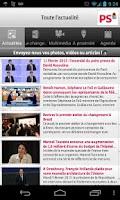 Screenshot of Parti socialiste