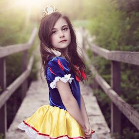 My Princess by Jenn Rhinehart - Babies & Children Child Portraits (  )