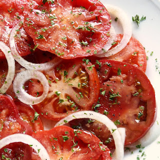 Tomato And Onion Salad With Balsamic Vinegar Recipes