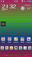 Screenshot of Colorful Theme LGHome LG G2 G3