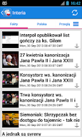 Screenshot of Polska News