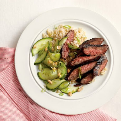 Spicy Hoisin Skirt Steak