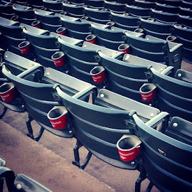 Section 104 is a little lonely this evening. by Quentin Wilmot - Instagram & Mobile Android