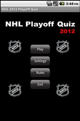 NHL Playoff Quiz 2012