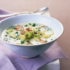 Kipper And Sweetcorn Chowder