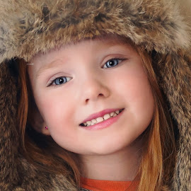 My Little Hunter Girl by Cheryl Korotky - Babies & Children Child Portraits