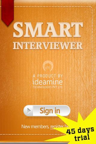 Smart Interviewer Trial