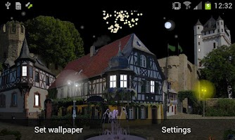 Screenshot of Castle Cat PRO Live Wallpaper