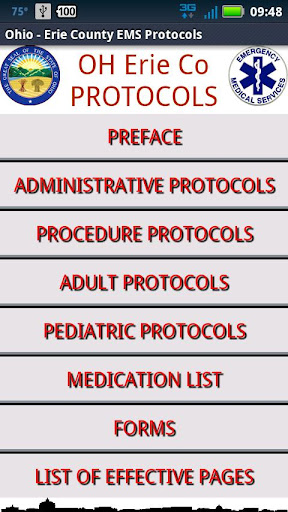 Ohio Erie Co. EMS Protocols