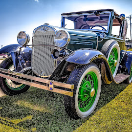 Model A by Ron Meyers - Transportation Automobiles