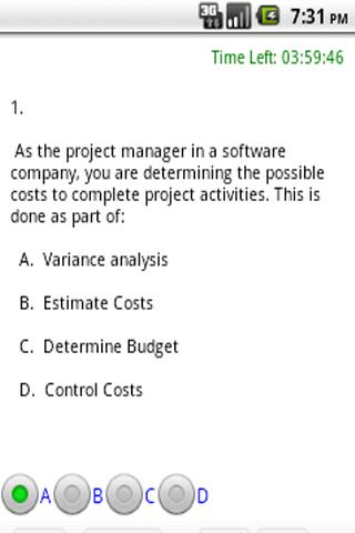 PMP Practice test