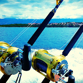 Big game fishing by Žaklina Šupica - Sports & Fitness Other Sports (  )