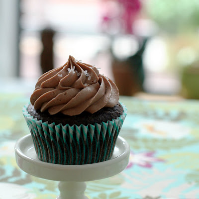 Chocolate Amaretto Cupcakes