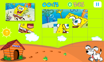 Screenshot of Doggy Puzzles for children