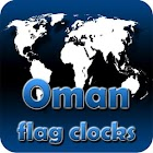 Oman flag clocks icon