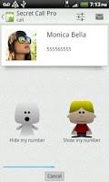 Screenshot of Secret Call - hide Caller ID