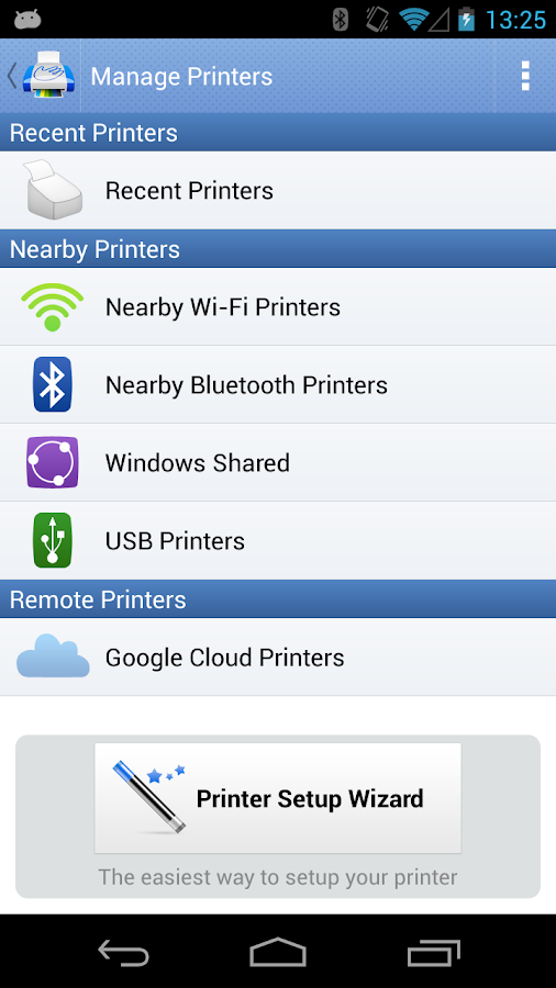 PrintHand Mobile Print Premium Screenshot 1