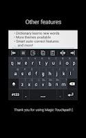 Screenshot of Magic Touchpad Free
