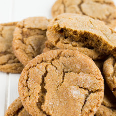 Chewy Ginger Snap Cookies