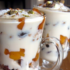 Brandied Peach Parfaits