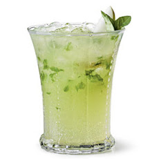 Pear-Basil Sipper