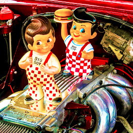 Big Boy by Patricia Rich - Artistic Objects Other Objects ( engine, big boy, collectible, advertising, classic )