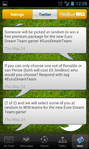 dream-team-euro-2012 for android screenshot