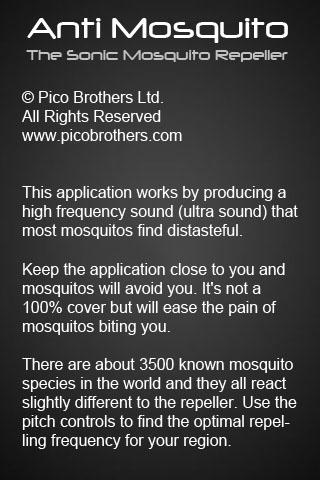 anti-mosquito-sonic-repeller for android screenshot