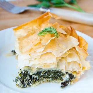 Spinach And Feta Pie (Spanakopita)