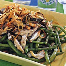 Green Beans with Wild Mushrooms