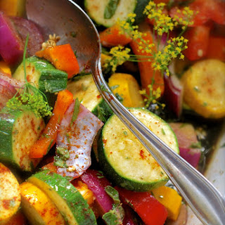 Marinated Veggie Grill