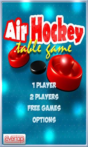 Free Air Hockey Table Game