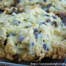 Colossal Chocolate Chip Oatmeal Cookies