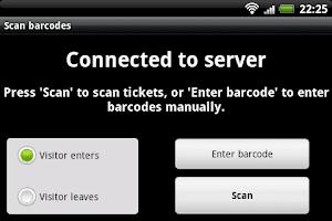 Screenshot of BarcodeChecker for Tickets