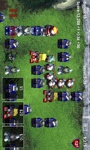 robo-defense-free for android screenshot