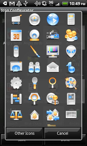 CustardFace - Crazy Icon Pack