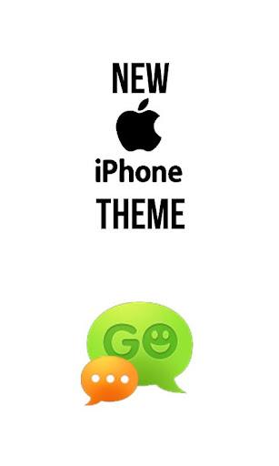 GO sms IPHONE ios5 Theme