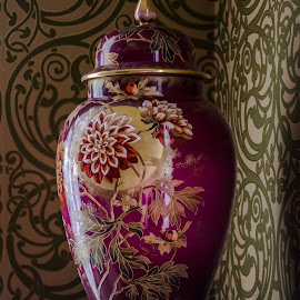 Vase by Calvin Morgan - Artistic Objects Other Objects ( interior, vase, hackley house, shelf, nikon d7000, antique )