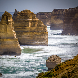 Twelve Apostles by Gary Beresford - Landscapes Beaches ( great ocean road, erosion, twelve apostles, australia, victoria )