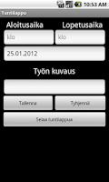 Screenshot of Tuntilappu