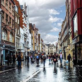 london by Nesrine el Khatib - City,  Street & Park  Street Scenes (  )