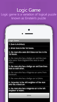 Screenshot of Logic Game for Purplenamu