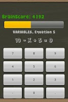 Screenshot of Train my Brain Mental Maths