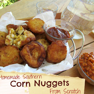 Homemade Southern Corn Nuggets From Scratch