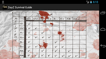 Screenshot of DayZ Standalone Survival Guide