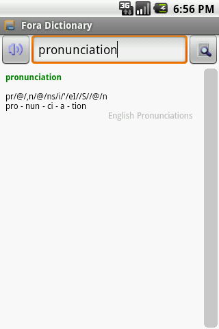 English Pronunciations Package