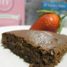 gulten free * gateau au chocolat * tofu flourless chocolate cake * low calorie