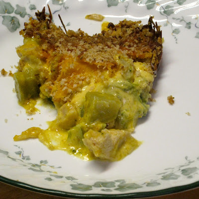 Gramma Dee's Curried Chicken and Broccoli Bake