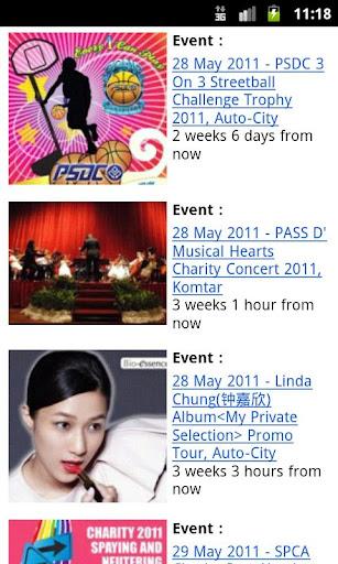 Penang Events