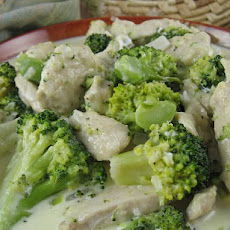 Chicken Broccoli Alfredo - Low Carb